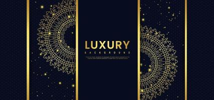 Ornate Golden Royal Banner vector
