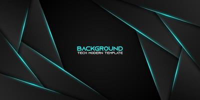 Dynamic Metallic Black and Blue Layered Background vector