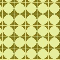 Lime Green Geometric Pattern vector