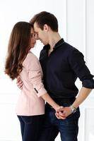 hermosa pareja feliz