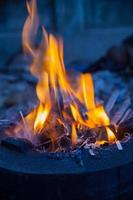 Fire flames photo