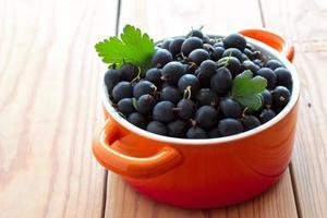 Fresh gooseberries in ceramic bowl