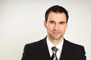 Handsome businessman photo