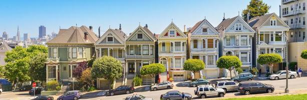 Victorian Homes, Alamo Square, San Francisco