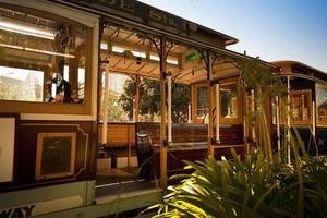 Cable car transportation San Francisco