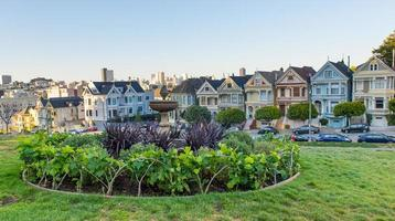 The Painted Ladies of San Francisco, California photo