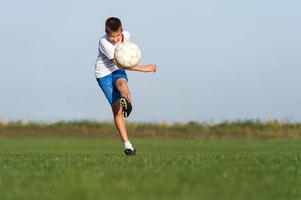 voetbal voor kinderen