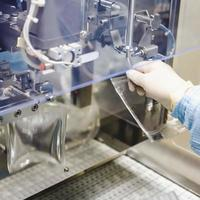 Operator work on infusion pharmaceutical industry