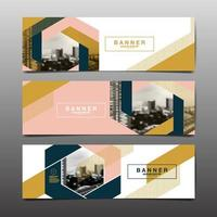 Layout Design Template City Abstract