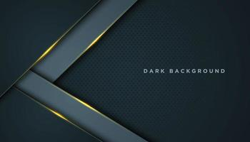Grey Abstract Background with V-Shape Layers vector