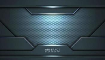 Abstract Grey Blue Mesh Innovative Background