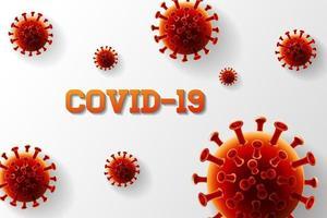 diseño de coronavirus covid -19 vector