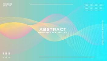 Fondo colorido abstracto en capas
