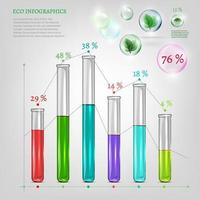 Eco Infographic with Tubes