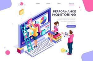 Performance Monitoring Landing Page