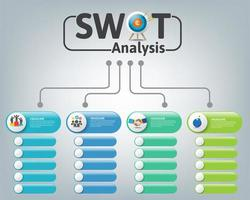 Glossy Banners SWOT Analysis Chart