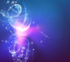 Gradient Light Swirl Background vector