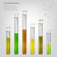 tubos transparentes multicolores