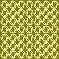 diseño de patrón redondo retro verde lima