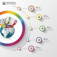 infografía mundo de la creatividad