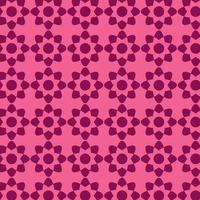 patrón de mosaico estrella geométrica rosa
