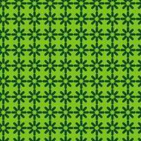 patrón de estrella geométrica verde brillante