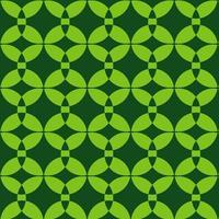 Neon Bright Green Retro Pattern  vector