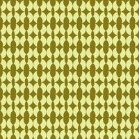 lime grön rund form retro mönster