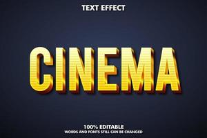 Cinema text effect