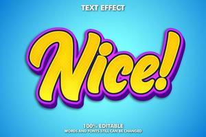 bonito efecto de texto