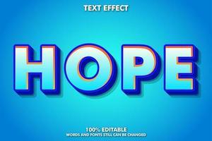 efecto de texto moderno