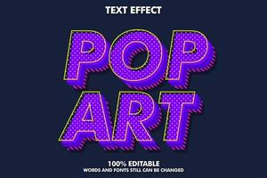 Pop art font style
