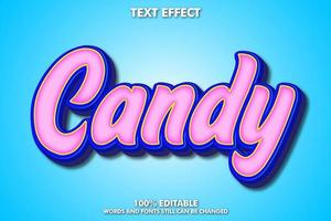 Candy text effect