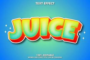 Juice text effect