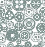 Green Grey Gears Background