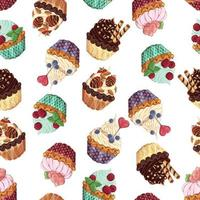 Sweet baskets pattern
