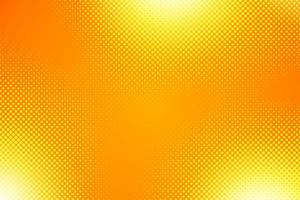 Orange Halftone Gradient Background