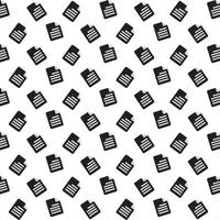 Document icon pattern  vector