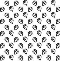 Location icon pattern vector