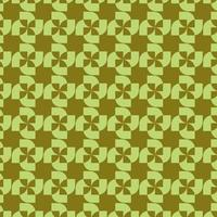 Lime Green Geometric Abstract Pinwheel Pattern vector