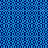 Blue Abstract Round Diamond Pattern vector