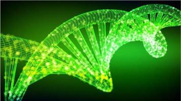 affiche de coronavirus de cadre de fil vert