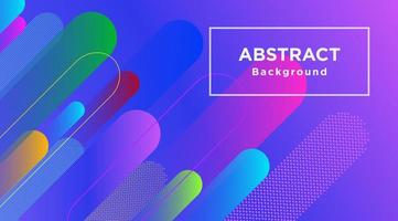Colorful Background with Multiple Rounded Stripes