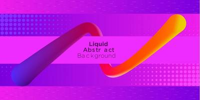 Wrapped Abstract Shape Gradient Background