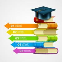 Business Education Colorful Infographic
