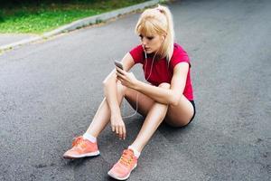la música es la mejor compañera mientras corres