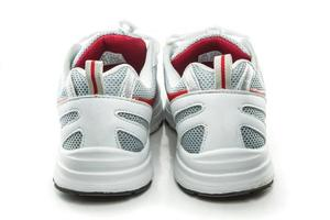 Close up sneakers photo