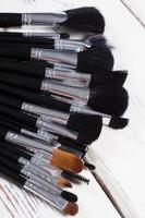 Brushes close-up.