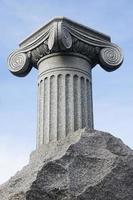 columna antic, primer plano foto