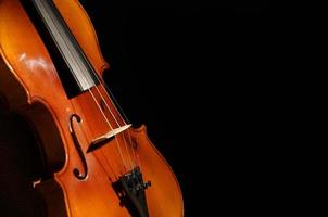 violín de cerca foto